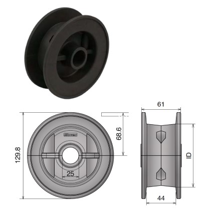 Chain Idler Wheels